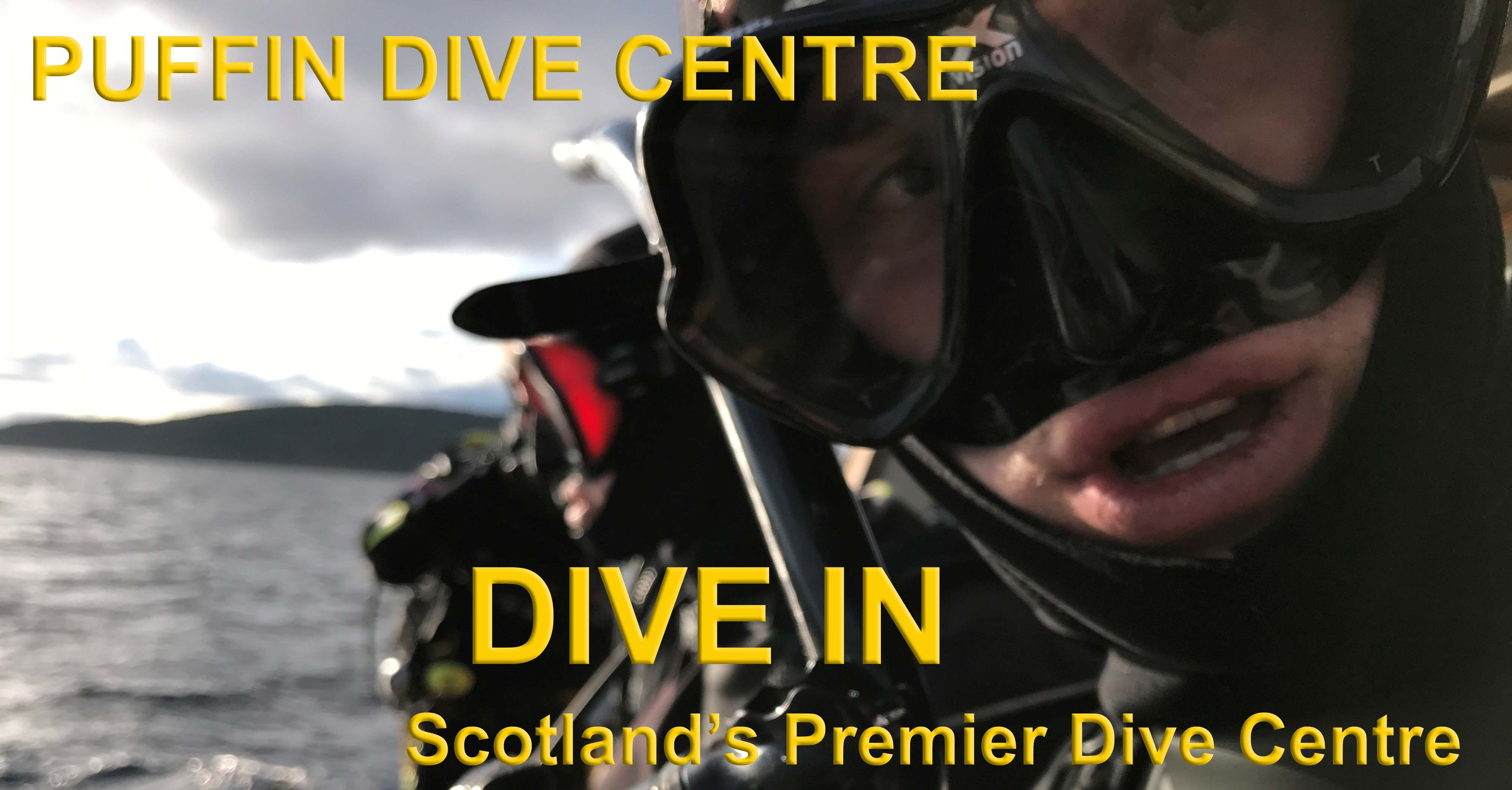 Dive in at Puffin Dive Centre - a wide range of diving services