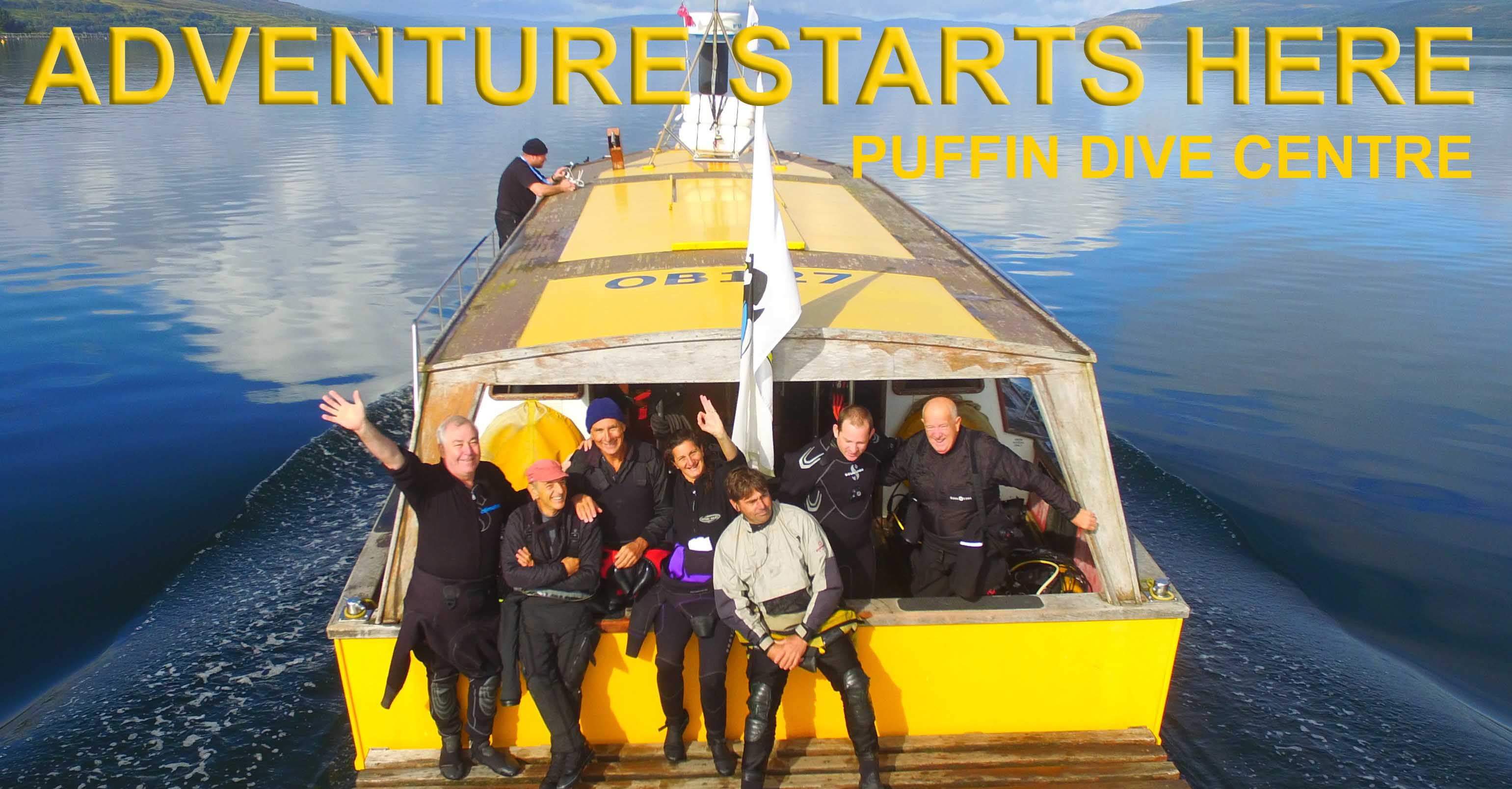 Boat Diving with Puffin Dive Centre - Adventure starts here!